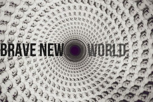 brave new world dystopia thesis Emerging themes in dystopian literature: a dystopia is a future world that extends and distorts modern day issues into aldous huxley's brave new world.