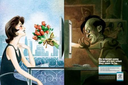 Internet dating and dangers